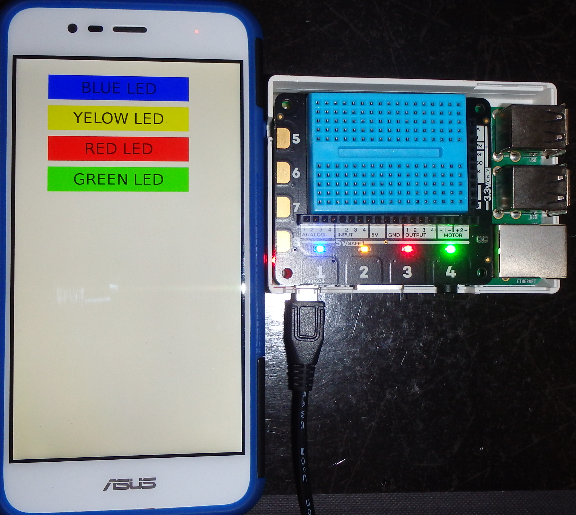 Android Python App Talking to a Raspberry Pi – Fun Tech Projects